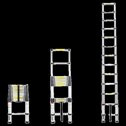 aluminiowa drabina teleskopowa